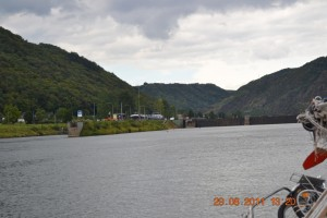 Mosel Schleuse
