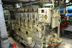 Rhein Binnenschiffmotor
