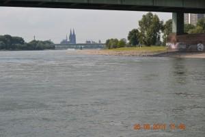 Rhein Köln in Sicht