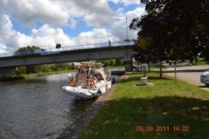 Canal de l'Est Charmes