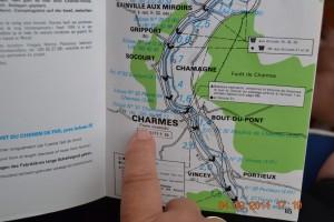 Canal de l'Est Charmes Guide