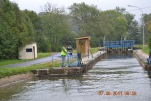 Canal de l'Est Fontenoy