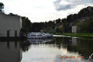 Canal de l'Est Fontenoy Mietboote