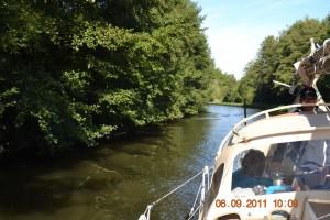 Canal de l'Est Landschaft