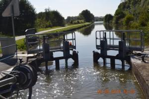 Canal de l'Est Tor auf