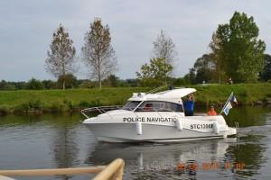 Mosel Frankreich Wasserschutz-Polizei