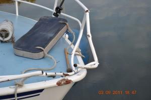 Mosel Motorboot Bugreeling