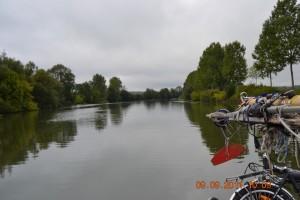 Petite-Saone Fluß-Abschnitt