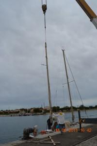 Port-Saint-Louis Besan schwebt ein