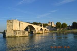 Rhone Avignon Brücke