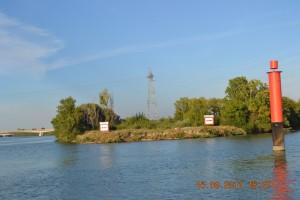 Rhone Richtung Avignon