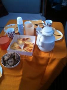 Port-Saint-Louis Kaffee und Kuchen